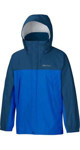 Marmot Boy's PreCip Jacket Peak Blue/Dark Sapphire